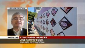 """Egido: Israel aplica """"mano de hierro"""" contra los palestinos"""