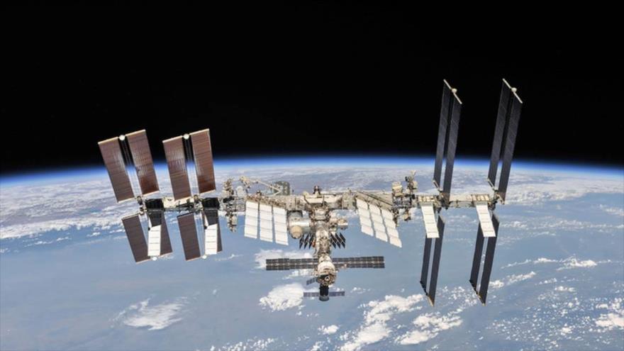 La Estación Espacial Internacional (EEI), 4 de octubre de 2018. (Foto: NASA)