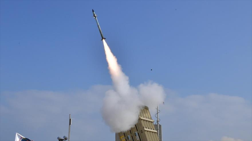 Un misil lanzado desde la base aérea israelí de palmachim, 4 de julio de 2018.