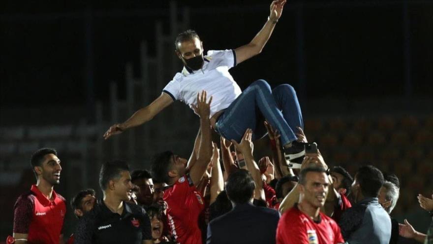 Persépolis, campeón de la Liga iraní de fútbol 5.º año consecutivo