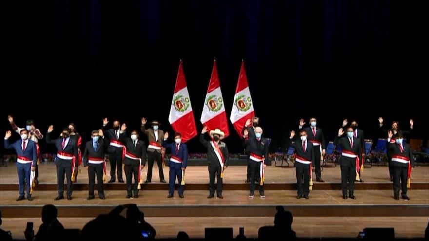 Derecha critica designación de Guido Bellido como premier en Perú