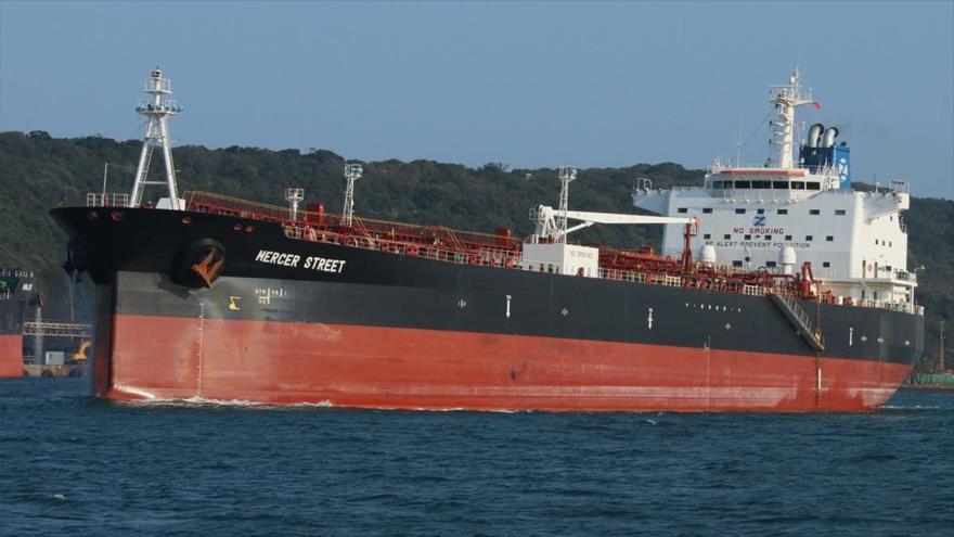 El petrolero Mercer Street perteneciente a la empresa Zodiac Maritime. (Foto: FleetMon)