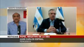 Espinal: La OEA no representa los intereses de América Latina