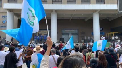 Continúa ola de protestas en Guatemala contra Giammattei y Porras