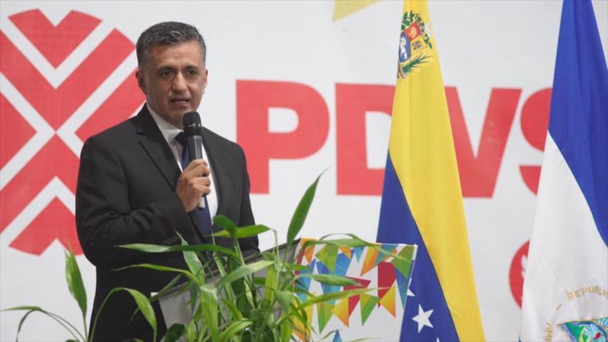 Secretario ejecutivo de la Alianza Bolivariana para los Pueblos de Nuestra América-Tratado de Comercio de los Pueblos (ALBA-TCP), Sacha Llorenti.