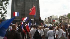 Francia: Protestas contra el pase sanitario y vacunación obligatoria
