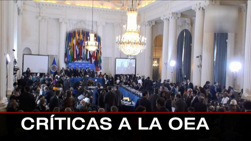 Asesinato de Khashoggi. Indignación en Francia. Críticas a OEA – Boletín: 21:30 – 31/07/2021