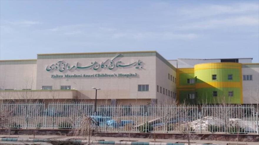 El hospital pediátrico, Zahra Mardani, en la ciudad de Tabriz, noroeste de Irán.