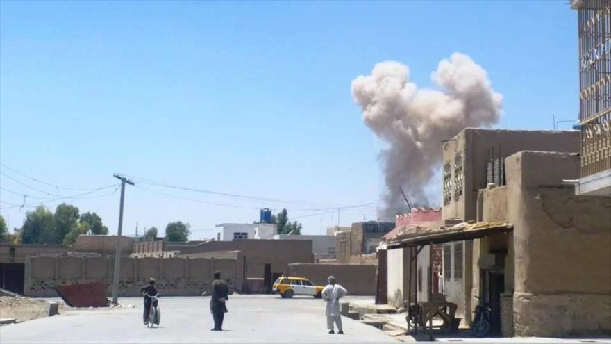Aeropuerto de Kandahar en Afganistán, objeto de ataque con cohetes
