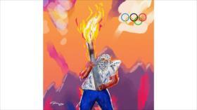 Así es como celebran los palestinos las olimpiadas suyas
