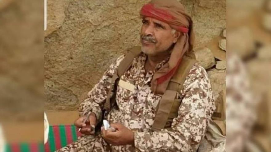 Ebad Ahmad al-Halisi, comandante de la 143.ª Brigada de Infantería de las fuerzas leales al expresidente yemení, abatido por el Ejército yemení. (Foto: Arabi 21)