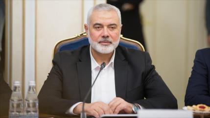 Ismail Haniya es reelegido jefe de la dirección política de HAMAS