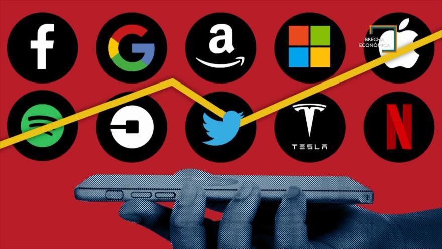 Brecha Económica: Gigantes tecnológicos y monopolios estadounidenses