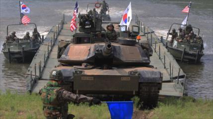 Pyongyang advierte a Corea del Sur de sus maniobras con EEUU