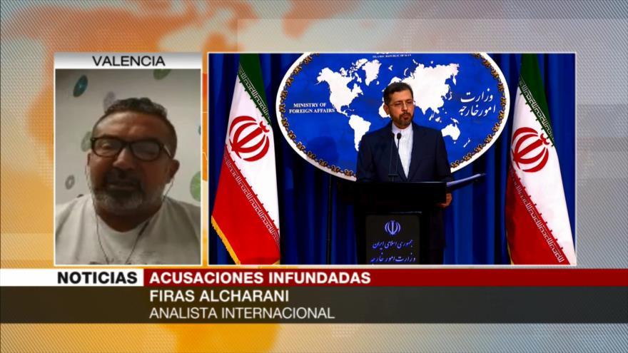 Alcharani: Israel es el que desestabiliza Asia Occidental, no Irán