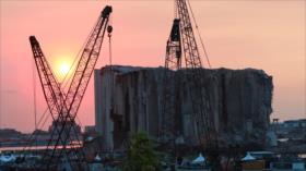Así quedó el puerto de Beirut tras un año de letal explosión