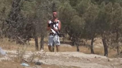Colono judío dispara a palestinos con rifle de un soldado israelí