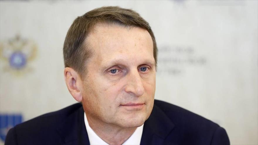 Director del Servicio de Inteligencia Exterior de Rusia (SVR, por sus siglas en ruso), Serguéi Naryshkin. (Foto: Tass)