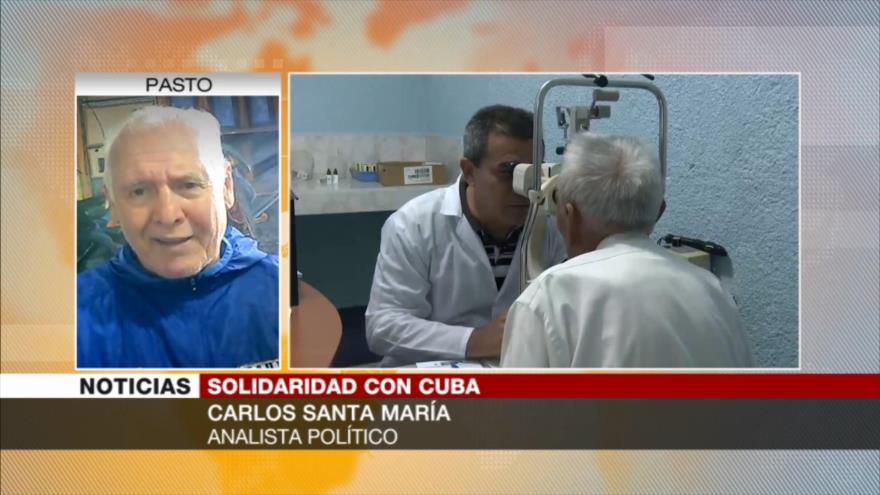 Santa María: Solidaridad mundial es un avance para Cuba ante EEU