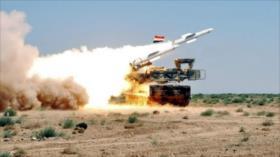 Defensa aérea de Siria derriba avión espía en el sur de Alepo