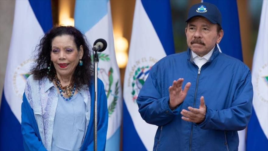 Daniel Ortega y Rosario Murillo, fórmula presidencial del FSLN | HISPANTV