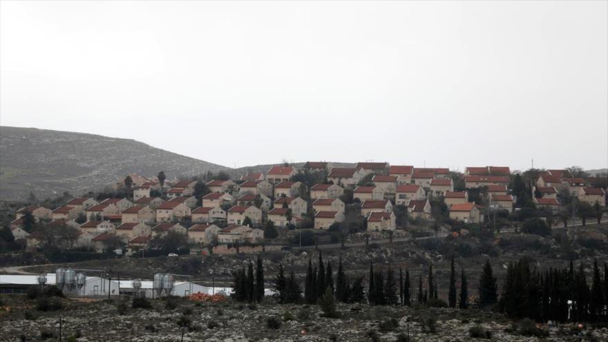 Asentamientos ilegales de Israel en la ocupada Cisjordania, 9 de febrero de 2020. (Foto: Reuters)