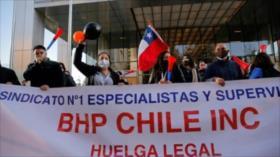 Mineros chilenos realizarían huelga para reivindicar sus derechos