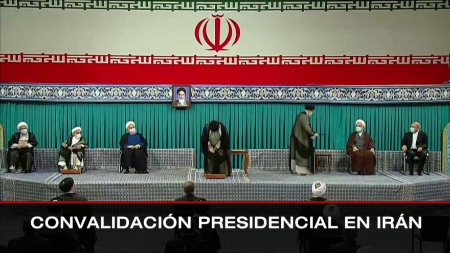 Convalidación presidencial en Irán. Regreso de COVID-19 a Wuhan. Investigación a Bolsonaro - Boletín: 12:30 - 03/08/2021