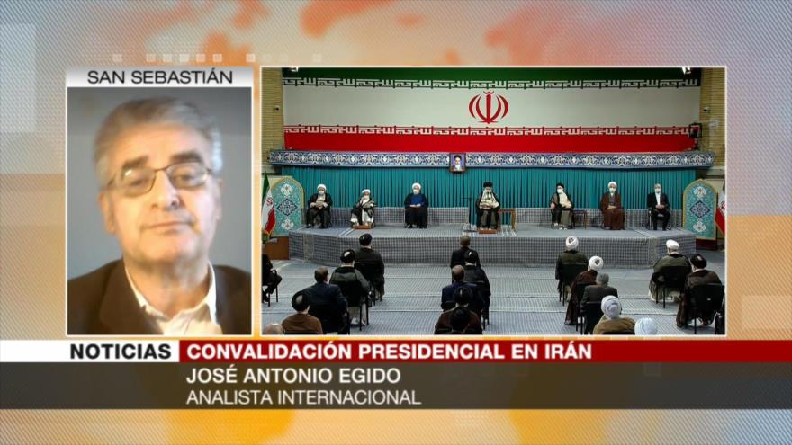 Egido: Irán seguirá superando dificultades con su nuevo presidente