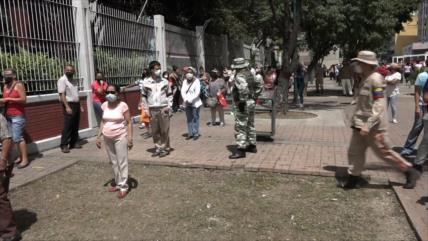 Partido de gobierno en Venezuela se moviliza para primarias
