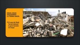 PoliMedios: Israel sigue saqueando la tierra Santa