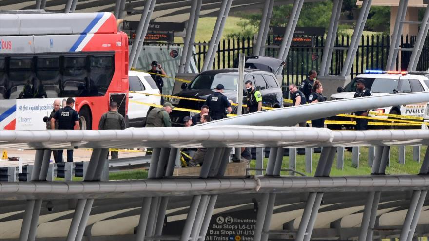 Un agente de policía murió por un tiroteo cerca del Pentágono