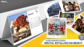 Esta semana en la historia: Brutal estallido en Beirut