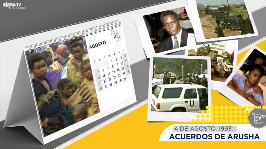 Esta semana en la historia: Acuerdos de Arusha