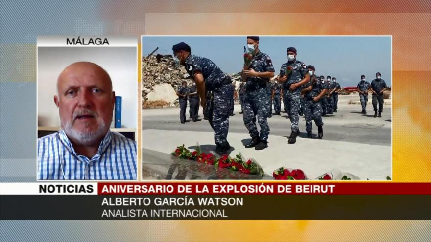 'Por intereses foráneos no se saben autores de explosión de Beirut'