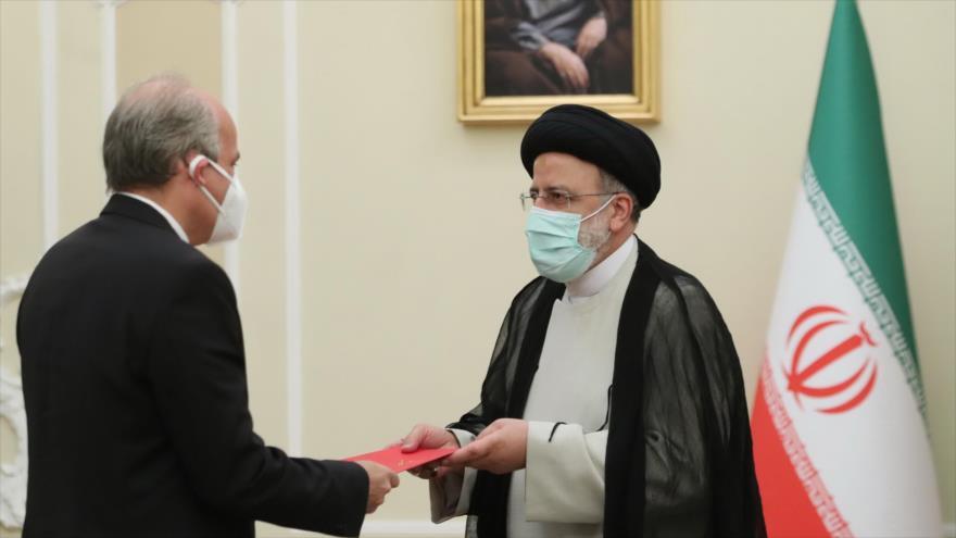 Raisi destaca el poderío de Irán y Venezuela para enfrentar a EEUU