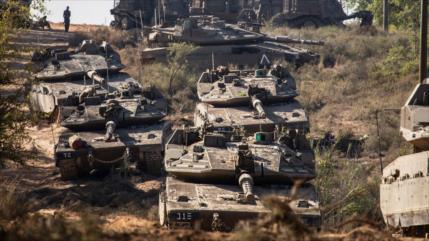 Israel despliega tanques cerca de frontera con El Líbano