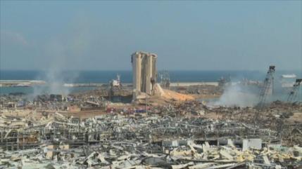 Aniversario de la fatídica explosión en Beirut