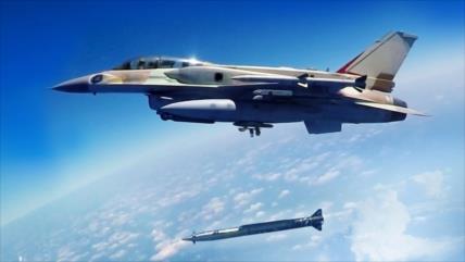 F-16 israelíes bombardean objetivos en el sur de El Líbano