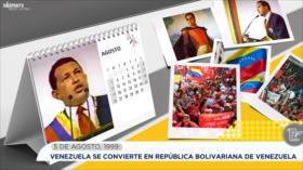 Esta semana en la historia: Venezuela se convierte en República Bolivariana de Venezuela