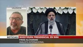 ¿Qué muestra gran presencia en investidura de Raisi?, aborda Alcharani