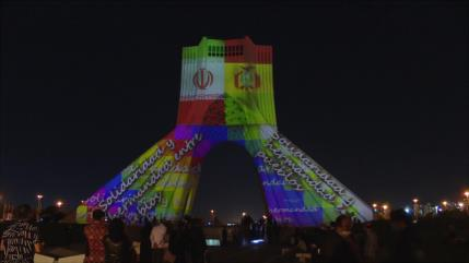 En fotos: Irán celebra a lo grande Día de Independencia de Bolivia