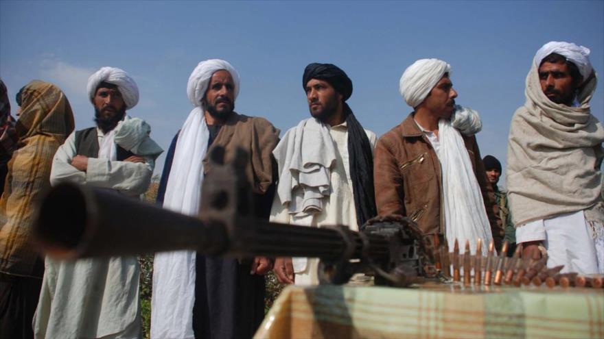Los talibanes en la provincia de Herat, oeste de Afganistán. (Foto: AFP)
