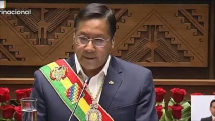 Arce encabeza celebraciones por Día de Independencia de Bolivia