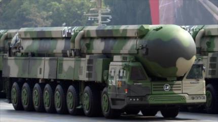 """EEUU exprsea """"profunda preocupación"""" por el arsenal nuclear chino"""