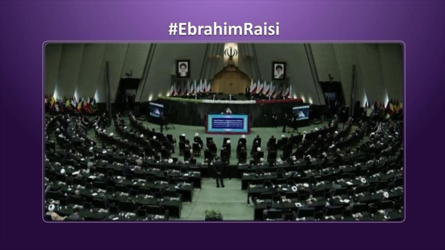 Etiquetaje: Ebrahim Raisi jura el cargo y se convierte en presidente de Irán