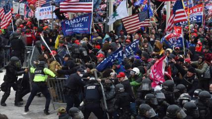 EEUU teme que se repita un acto similar al asalto al Capitolio