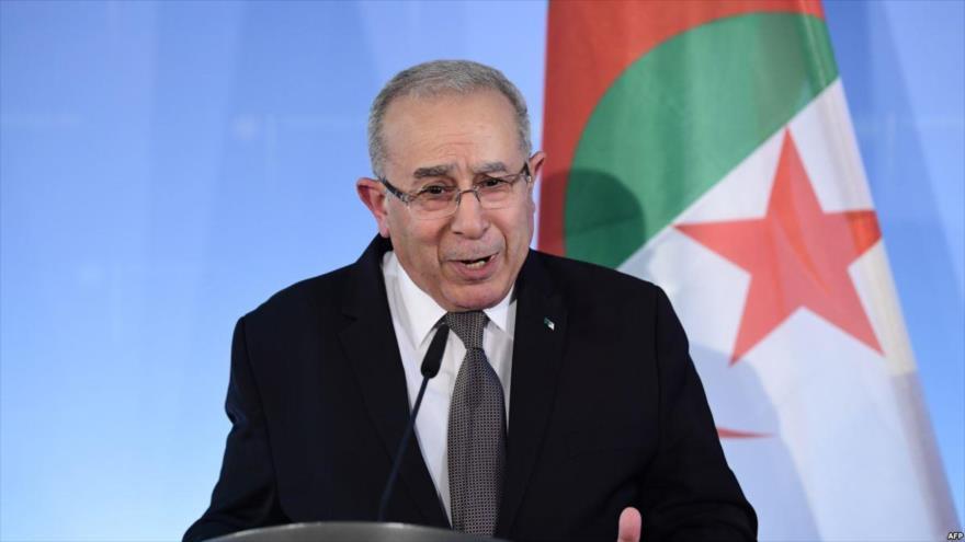 El ministro de Exteriores de Argelia, Ramtane Lamamra.