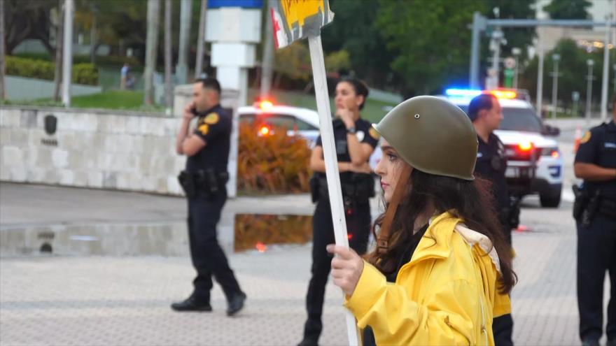 Activistas contra bloqueo a Cuba reciben amenazas de muerte en EEUU