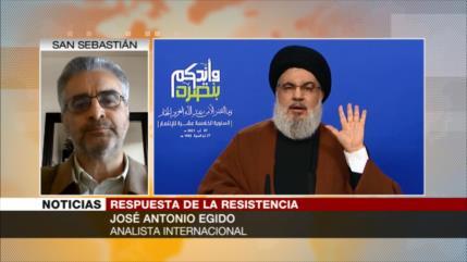 Egido: Hezbolá es incomparable con antes, ya está mucho más fuerte